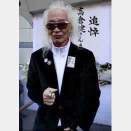 映画「ブラック・レイン」で健さんと共演/(C)日刊ゲンダイ
