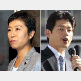 4回目の対決となる辻元氏と松浪氏/(C)日刊ゲンダイ