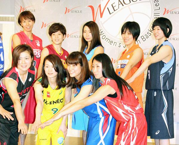 バスケットボール女子Wリーグ開幕記者会見/(C)日刊ゲンダイ