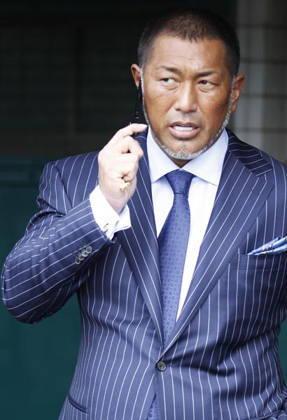 2013年7月頃の清原は頬がパンパン/(C)日刊ゲンダイ