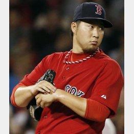田沢は2年連続で70試合登板を果たしている/(C)AP