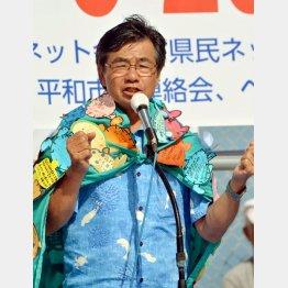 今年1月に再選/(C)日刊ゲンダイ