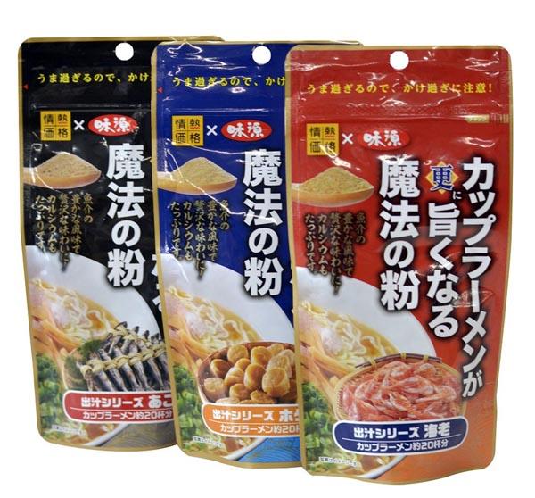「カップラーメンが更に旨くなる魔法の粉 80グラム」(ドン・キホーテ/味源、397円)