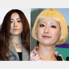 亜美(左)を「姉さん」と慕うカエラ/(C)日刊ゲンダイ