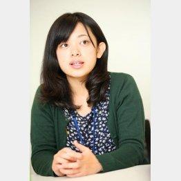 都内の大学に通う川島涼さん/(C)日刊ゲンダイ