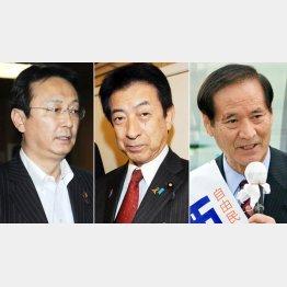 江藤防衛相、塩崎厚労相、西川農相/(C)日刊ゲンダイ