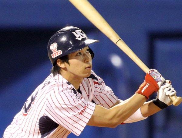 日本人右打者シーズン最多記録の193安打を放った山田/(C)日刊ゲンダイ