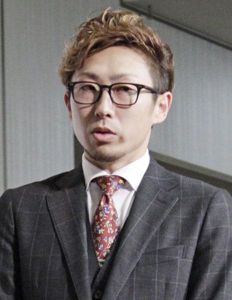 ブログで「悩んでいる」つづった金子/(C)日刊ゲンダイ