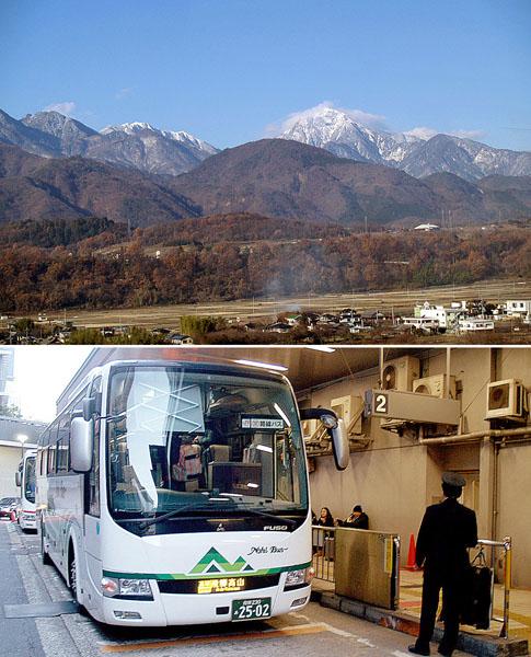 甲斐駒ヶ岳の秀峰はインパクト大/(C)日刊ゲンダイ