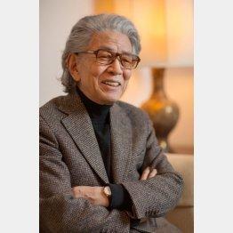 五木氏は小説「親鸞」の「完結篇」を出版したばかり/(C)日刊ゲンダイ