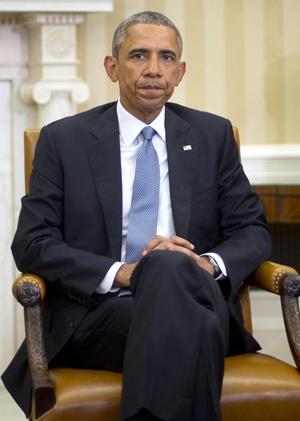 どうする?オバマ大統領/(C)AP