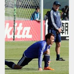 18日は全体練習に合流した岡崎 (C)六川則夫/ラ・ストラーダ