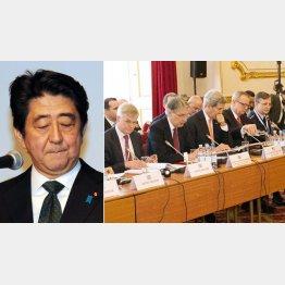 日本も「有志国連合」の仲間入り/(C)AP