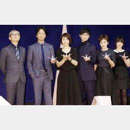 映画「悼む人」の豪華出演陣/(C)日刊ゲンダイ