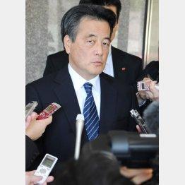 岡田代表では民主党はダメだ/(C)日刊ゲンダイ