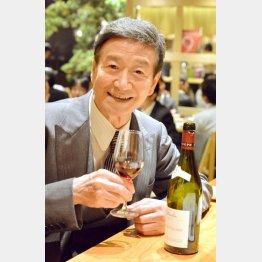 フルボトルを1日1本空けるほどのワイン好き/(C)日刊ゲンダイ