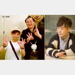 30回目の優勝を決めた祝勝会でのカット(左)/(C)日刊ゲンダイ