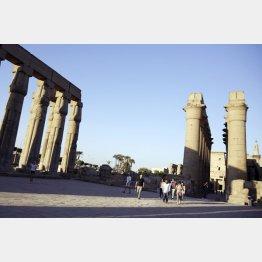 エジプトは閑古鳥が鳴く/(C)AP