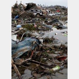 3・11大地震のときの東北被害/(C)日刊ゲンダイ