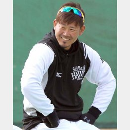 松坂は「若手のようにアピールする立場じゃない」とマイペース調整続ける/(C)日刊ゲンダイ
