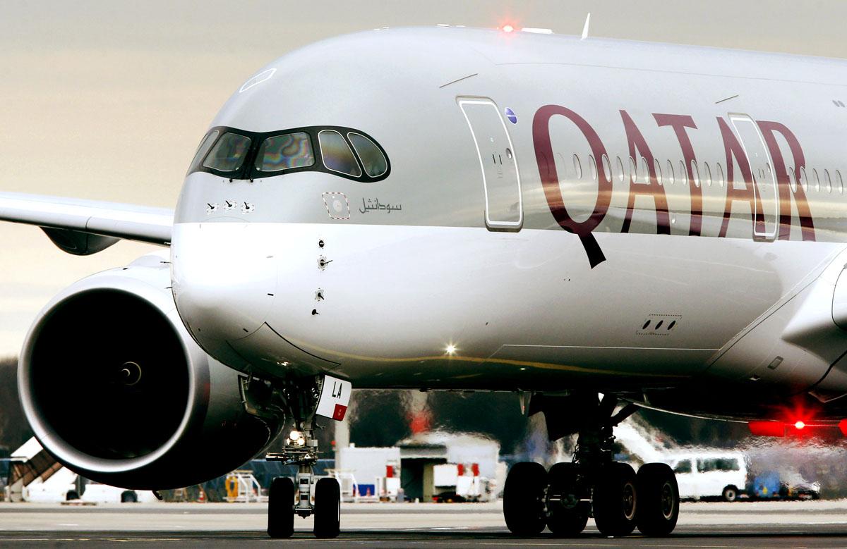 日本路線撤退を検討しているというカタール航空/(C)AP