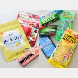 豊富な関連商品/(C)日刊ゲンダイ