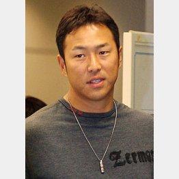 黒田は2次キャンプからチームに合流/(C)日刊ゲンダイ