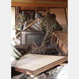 東日本大震災の被害の様子/(C)日刊ゲンダイ