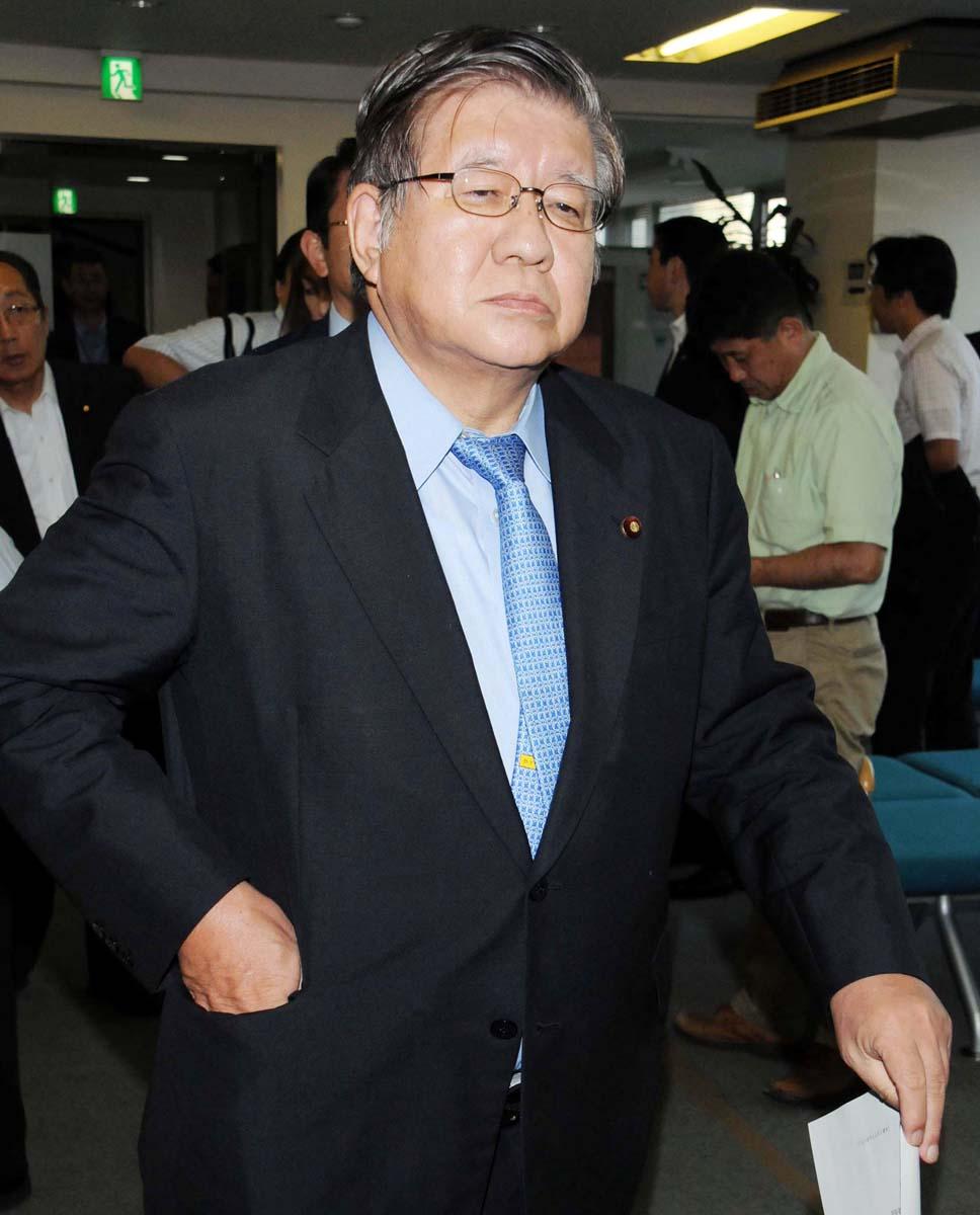 15日付で民主党道連会長を辞任した横路孝弘氏/(C)日刊ゲンダイ