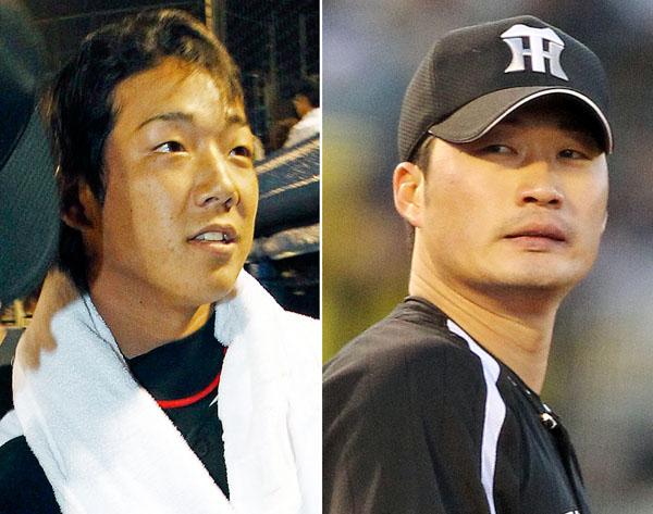 岩本(左)と呉昇桓 (C)日刊ゲンダイ