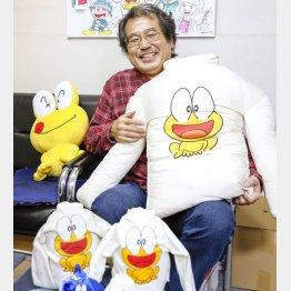 ピョン吉は孝行息子(C)日刊ゲンダイ
