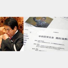 野党に追及された下村文科相/(C)日刊ゲンダイ