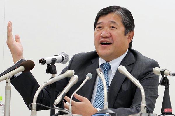 32人抜きの三井物産・安永竜夫執行役員/(C)日刊ゲンダイ