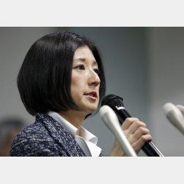 長女の大塚久美子社長は余裕?(C)日刊ゲンダイ