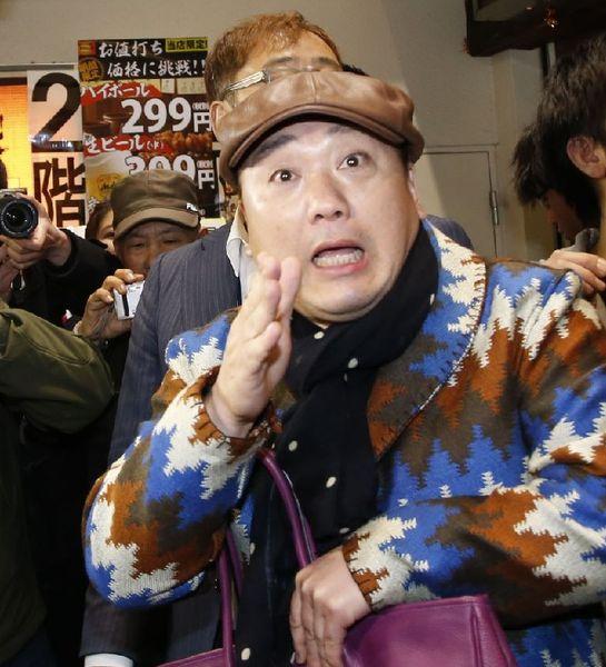 禁断の欽ちゃんネタが致命傷(C)日刊ゲンダイ