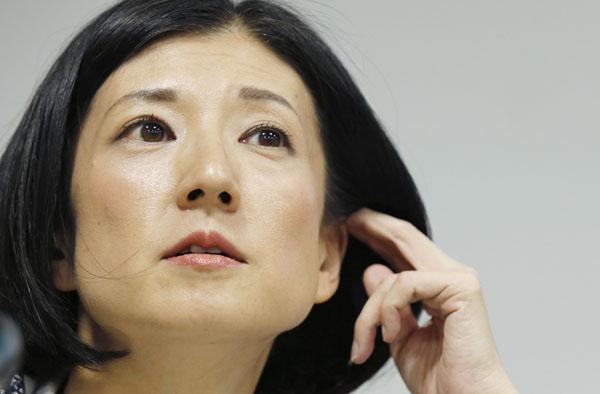 「美人過ぎる」と注目の大塚久美子社長(C)日刊ゲンダイ