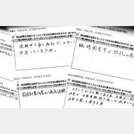 開示できない理由がズラリ(C)日刊ゲンダイ