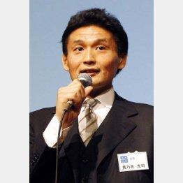サポーター制の旗振り役(C)日刊ゲンダイ