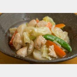 塩味の八宝菜