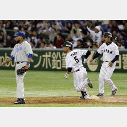 侍Jは雄平の適時打で何とか勝利(C)日刊ゲンダイ