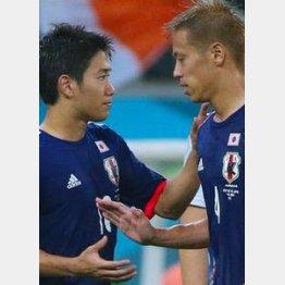 本田と香川、どちらかに先発落ちの可能性が