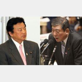 国会で質問した渡辺議員(左)(C)日刊ゲンダイ