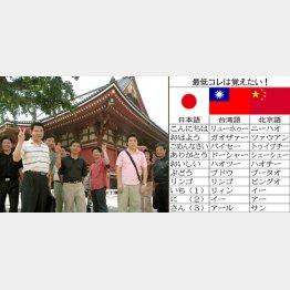 台湾人と中国人は意外に仲が悪いとか(C)日刊ゲンダイ