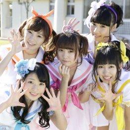 人気急騰!5人組ユニット「Sweet☆Pastel」新曲リリース