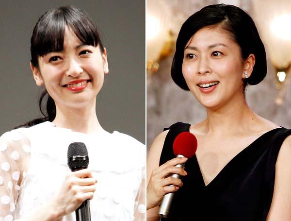 神田沙也加(左)と松たか子も再登板?/(C)日刊ゲンダイ