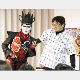 デーモン閣下とやくみつるの「相撲愛」は白鵬の心を解かすのか(C)日刊ゲンダイ