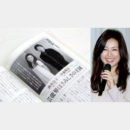 18日発売の「新潮45」で語った酒井法子