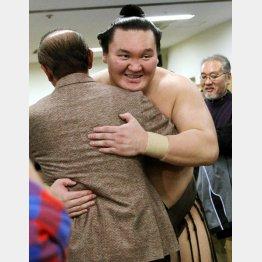 34回目の優勝に自画自賛だった白鵬(C)日刊ゲンダイ