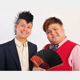 ツッコミ役の田口誠(左)とボケ役の池田真一(公式サイトより)