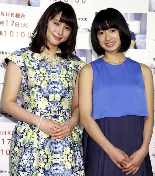 広瀬アリス(左)と門脇麦(C)日刊ゲンダイ